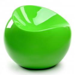 Fauteuil Ball Chair, XL Boom vert flashy