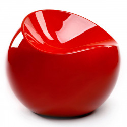 Fauteuil Ball Chair, XL Boom rouge