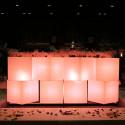 Cubo In, Slide Design blanc 20 cm