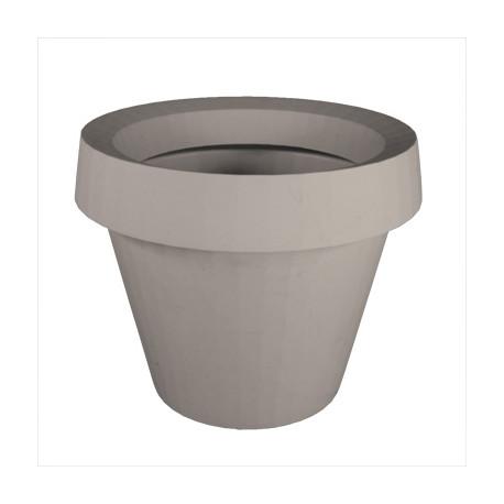 Pot Gio Tondo, Slide Design gris H 92 cm