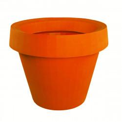 Pot Gio Tondo, Slide Design orange H 92 cm