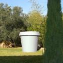 Pot Gio Big, Slide Design blanc H 143 cm
