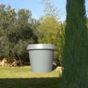 Pot Gio Big, Slide Design gris H 143 cm