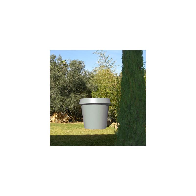 grand pot ext rieur int rieur gio big slide design gris. Black Bedroom Furniture Sets. Home Design Ideas