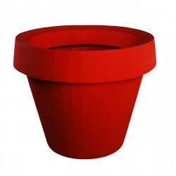 Grand Pot extérieur intérieur, Gio Big, Slide Design rouge H 143 cm