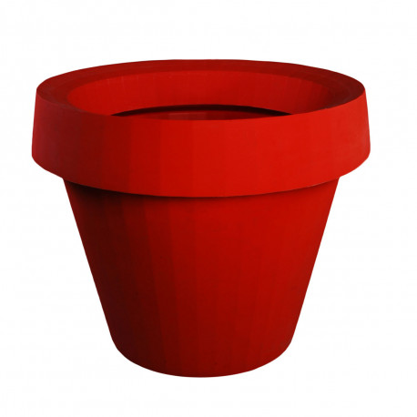 Pot Gio Big, Slide Design rouge H 143 cm