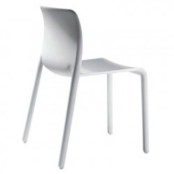 Lot de 2 chaises First Chair, Magis blanc