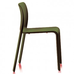 Lot de 2 chaises First Chair, Magis vert olive