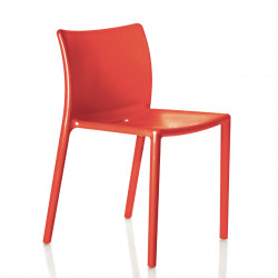 Chaise Air-Chair, Magis rouge brique