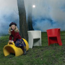 Chaise à bascule Trioli, Magis Me Too rouge