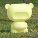 Lampe Art Toy Pure, Slide Design jaune