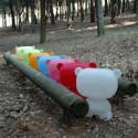 Lampe Art Toy Pure, Slide Design rose