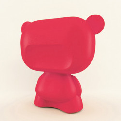 Lampe Art Toy Pure, Slide Design rouge