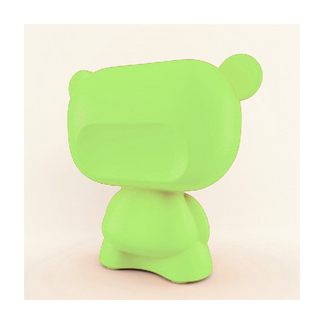Lampe Art Toy Pure, Slide Design vert