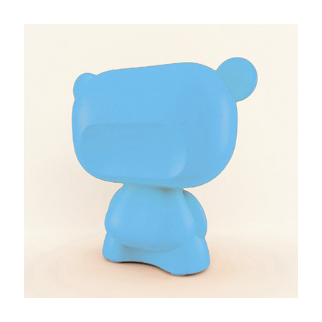 Lampe Art Toy Pure, Slide Design bleu