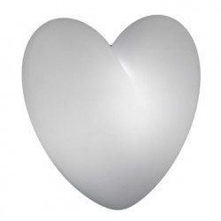 Lampe murale coeur Love, Slide Design blanc
