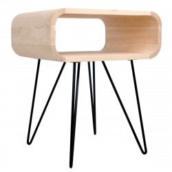 Table d'appoint Metro End Table XL Boom bois clair