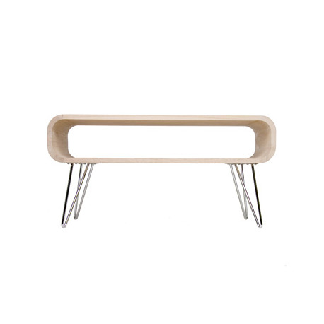 Table basse Metro Coffee Table, XL Boom bois clair