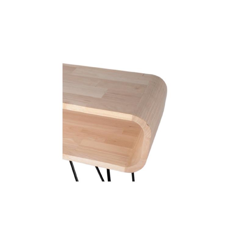 table console metro sofa xl boom bois clair cerise sur la deco. Black Bedroom Furniture Sets. Home Design Ideas