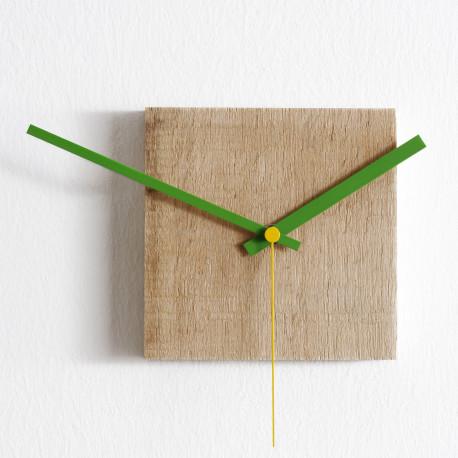 Horloge Nature petite, Diamantini & Domeniconi bois clair