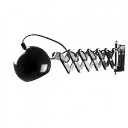 Lampe de mur dépliable Retro noir