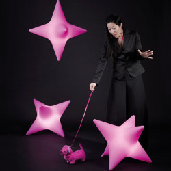 Suspension Starlight Indoor, Slide Design fuchsia