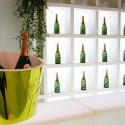 Cube lumineux Quadro pour étagère My Book, Slide Design blanc