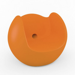 Fauteuil Blos, Slide Design orange