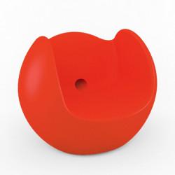 Fauteuil Blos, Slide Design rouge
