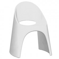 Chaise Amélie, Slide Design blanc