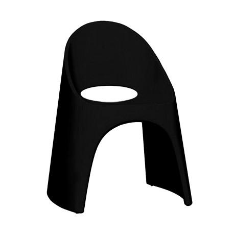 Chaise Amélie, Slide Design noire