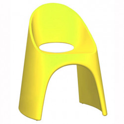 Chaise Amélie, Slide Design jaune