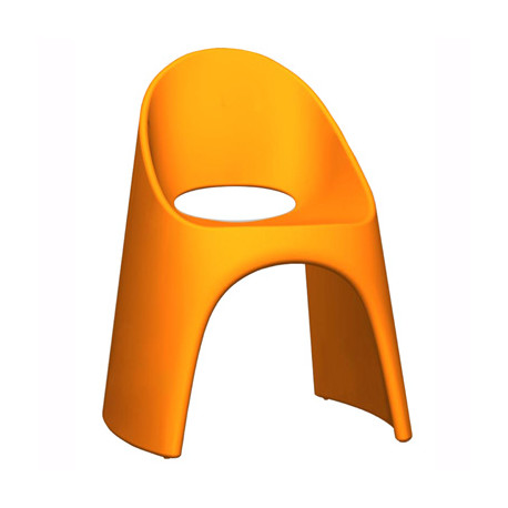 Chaise Amélie, Slide Design orange