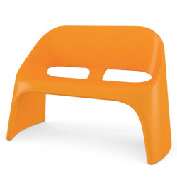 Fauteuil 2 places Amélie Duetto, Slide Design orange