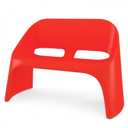 Fauteuil 2 places Amélie Duetto, Slide Design rouge