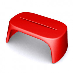 Table basse Amélie Panchetta, Slide Design rouge
