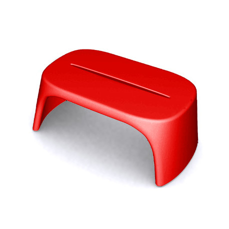 Table basse Amélie Panchetta, Slide Design rouge