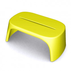 Table basse Amélie Panchetta, Slide Design jaune