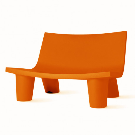 Fauteuil 2 places Low Lita Love, Slide Design orange