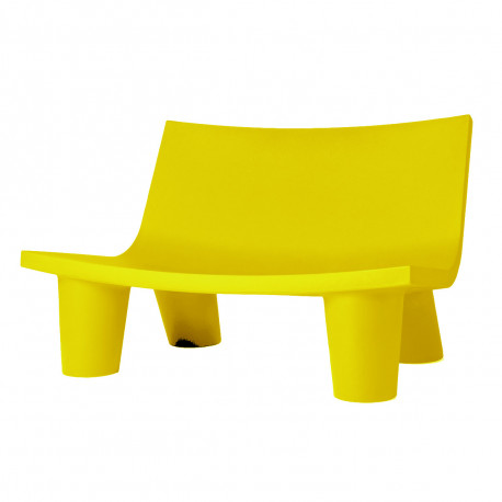 Fauteuil 2 places Low Lita Love, Slide Design jaune