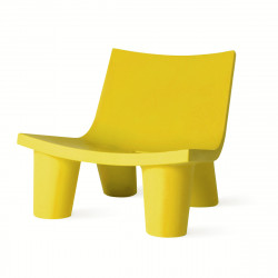 Fauteuil Low Lita, Slide Design jaune