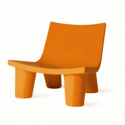 Fauteuil Low Lita, Slide Design orange