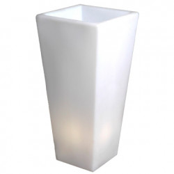 Grand Y-Pot Light, Slide Design blanc Hauteur 74 cm