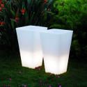 Grand Y-Pot Light, Slide Design blanc Hauteur 74 cm