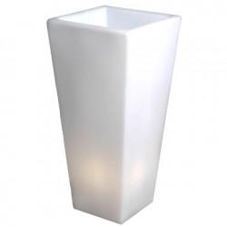 Grand Y-Pot Light, Slide Design blanc Hauteur 150 cm