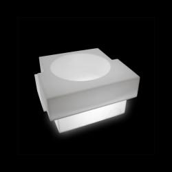 Pot Cubic Yo, Slide Design blanc
