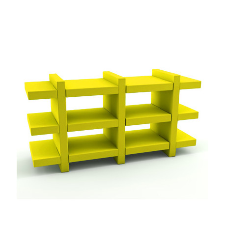 Etagère Booky Médium Slide jaune