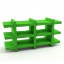 Etagère Booky Médium Slide vert