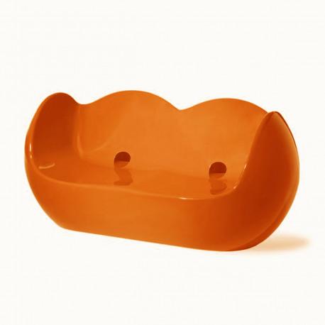Fauteuil 2 places Blossy, Slide Design orange