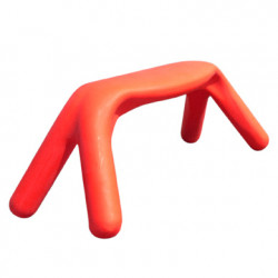 Banc Atlas, Slide Design rouge